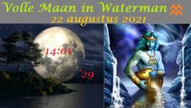 Volle Maan in Waterman - 22 augustus 2021