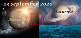 Mercurius vierkant Saturnus - 23 september 2020