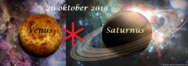 Venus sextiel Saturnus - 20 oktober 2019