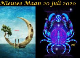 Nieuwe Maan in Kreeft - 20 juli 2020