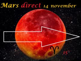 Mars direct 14 november 2020