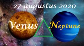 Venus driehoek Neptunus - 27 augustus 2020