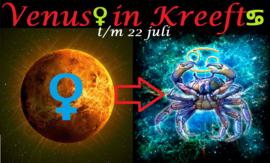 Venus in Kreeft - 2 juni 2021