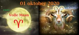 Volle Maan in Ram - 1 oktober 2020