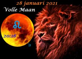 Volle Maan in Leeuw - 28 januari 2021