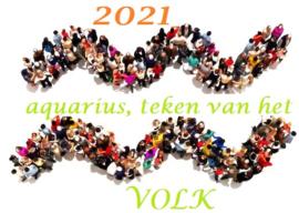2021 - Watermanjaar - teken van het volk