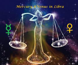 Mercurius en Venus in Weegschaal - 15 september