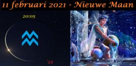 Nieuwe Maan in Waterman - 11 februari 2021