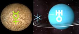Mercurius sextiel Uranus