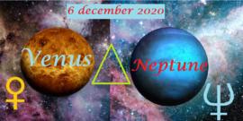Venus driehoek Neptunus - 06 december 2020