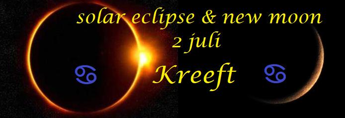 Zonsverduistering en Nieuwe Maan - 2 juli 2019
