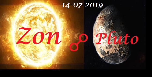 Zon oppositie Pluto 14-07-2019