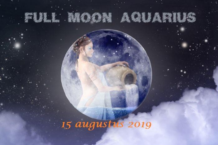Aquarius Full Moon - 15 augustus 2019 | Welkom bij AstroMoon