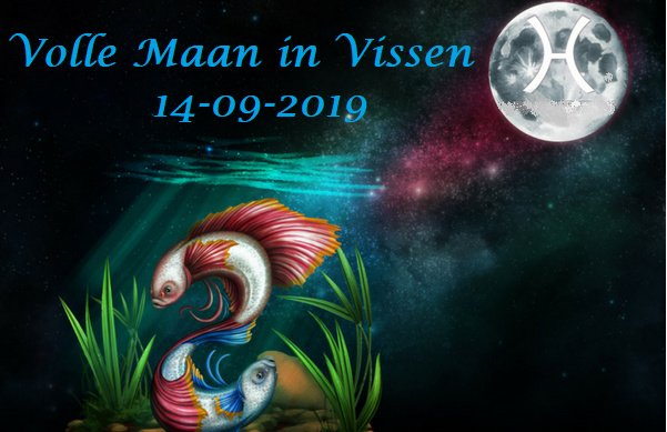 Volle Maan in Vissen - 14 september 2019