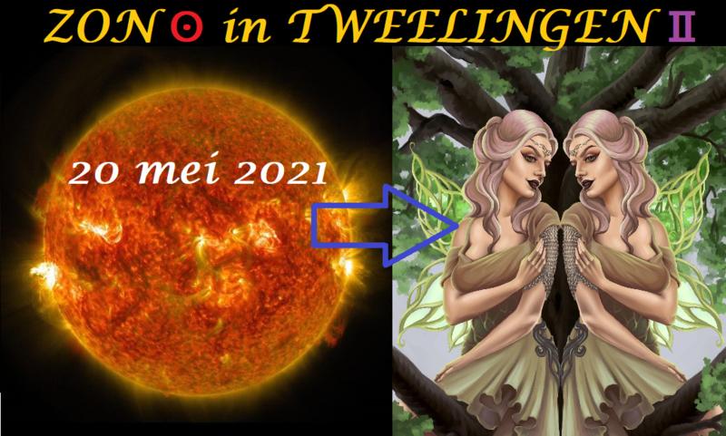 Zon in Tweelingen - 20 mei 2021