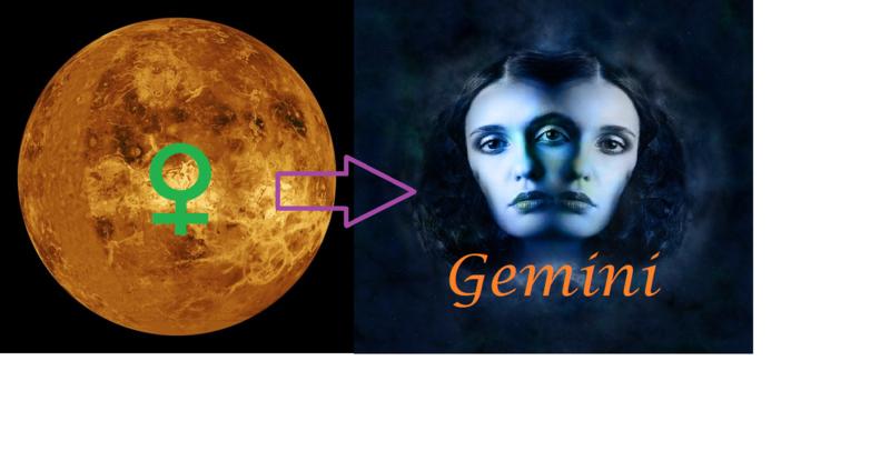 Venus in Gemini -  9 juni