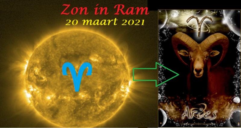 Zon in Ram - 20 maart 2021