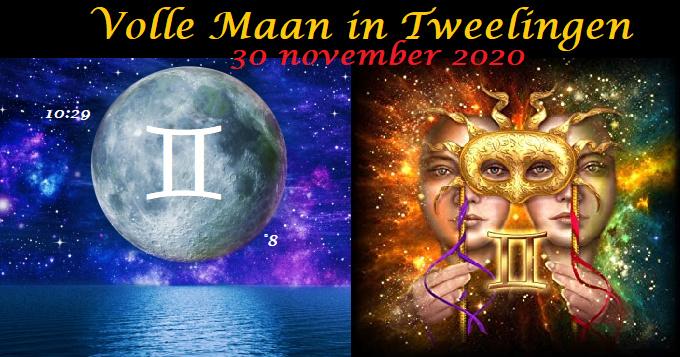 Volle Maan in Tweelingen - 30 november 2020