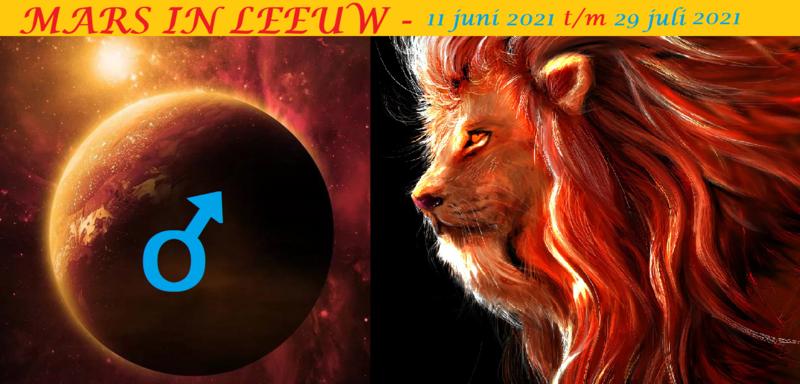 Mars in Leeuw - 11 juni 2021