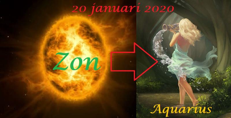 Zon in Waterman - 20 januari 2020