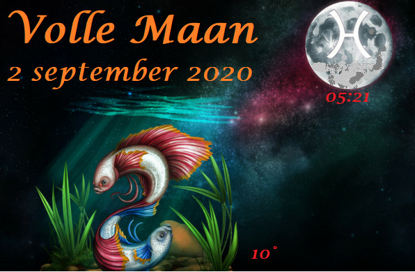 Volle Maan in Vissen - 2 september 2020