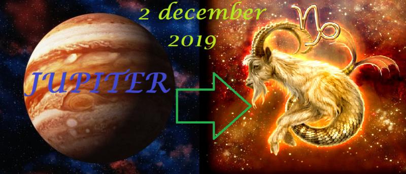 Jupiter in Steenbok - 2 december 2019