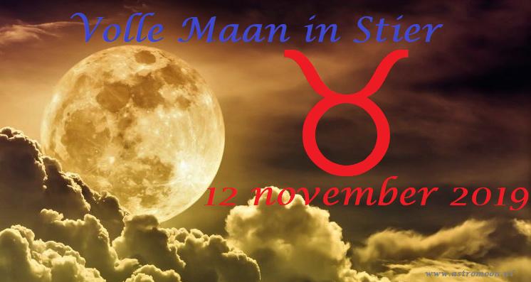 Volle Maan in Stier - 12 november 2019