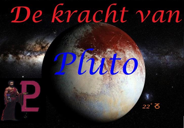 De energie van planeet Pluto