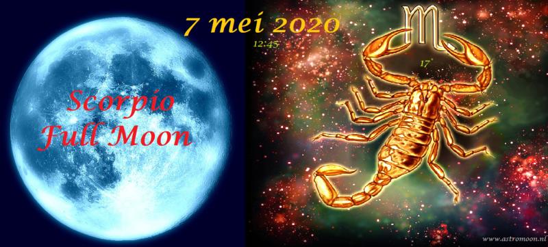 Volle Maan in Schorpioen - 7 mei 2020