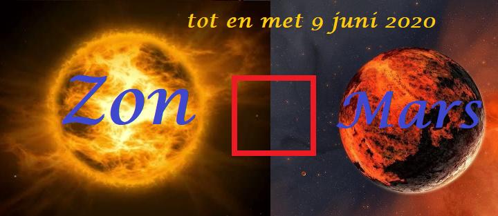 Zon vierkant Mars