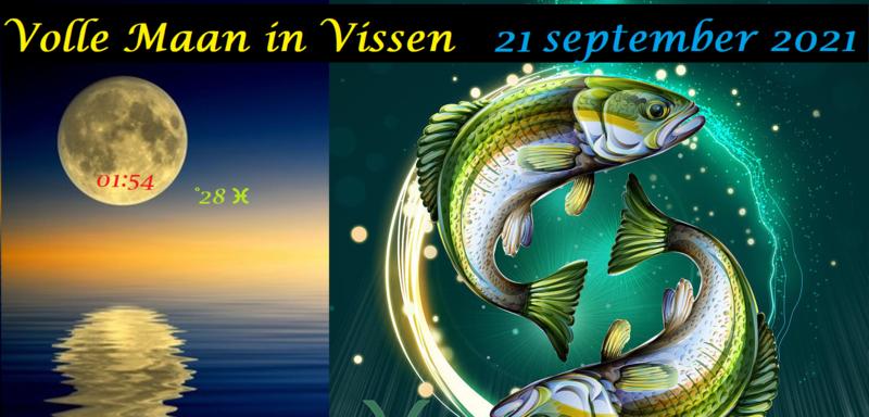 Volle Maan in Vissen - 21 september 2021