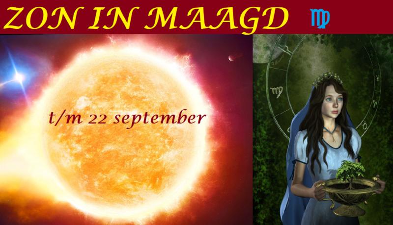 Zon in Maagd - 22 augustus 2021
