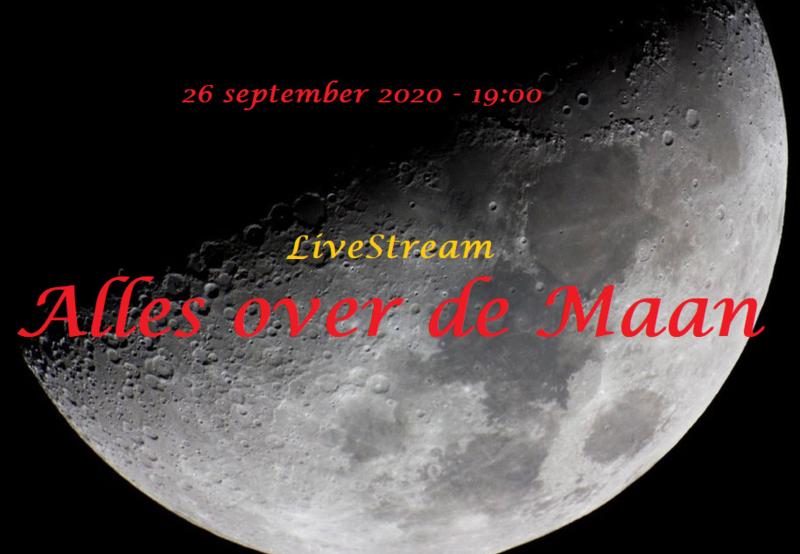 Observe the Moon night - 26 september 2020