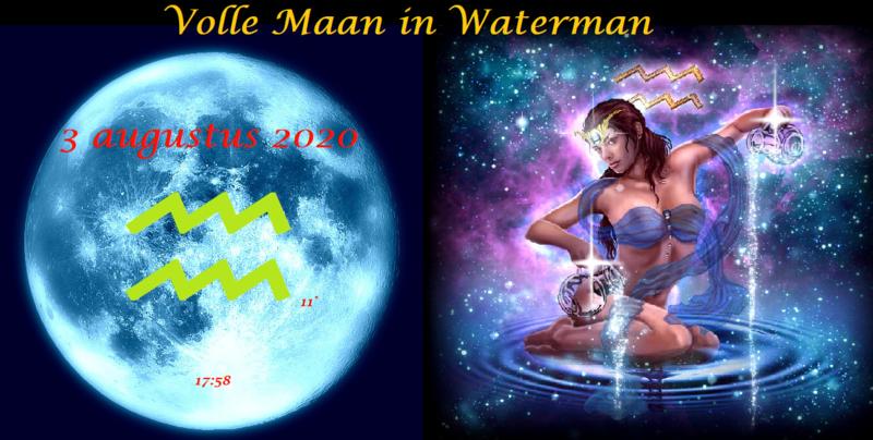 Volle Maan in Waterman - 3 augustus 2020