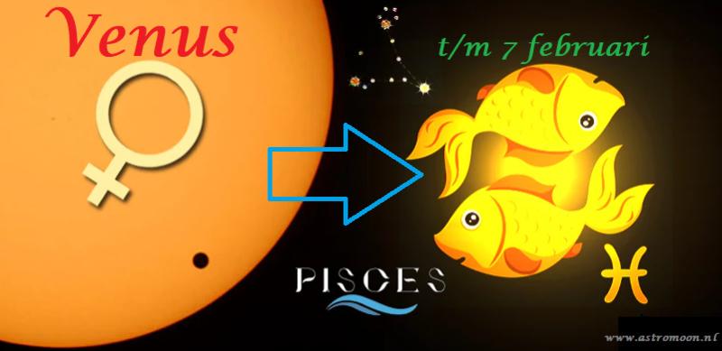Venus in Vissen