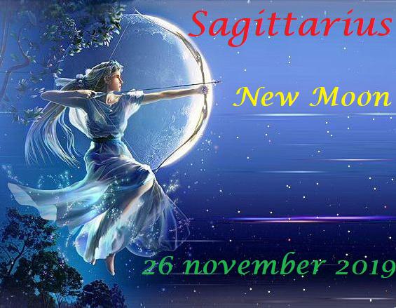 Nieuwe Maan in Boogschutter - 26 november 2019
