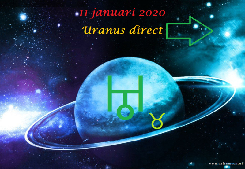 Uranus direct  -  11 januari 2020