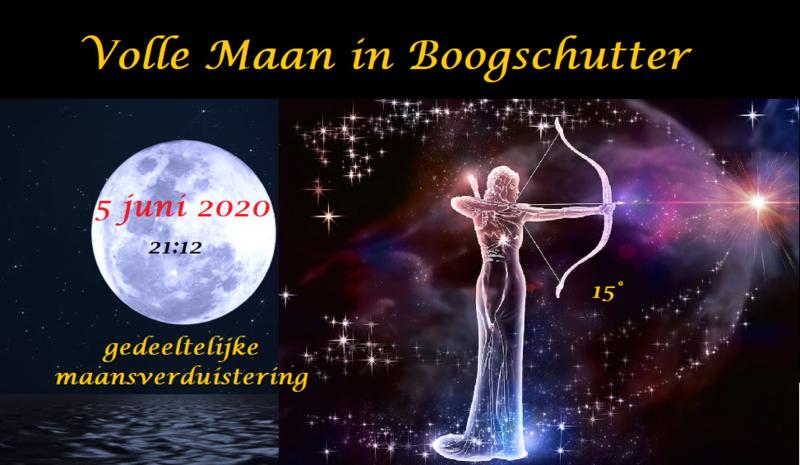 Volle Maan in Boogschutter - 5 juni 2020