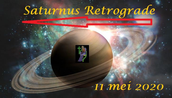 Saturnus retrograde - 11 mei 2020