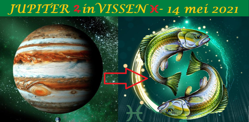 Jupiter in Vissen - 14 mei 2021