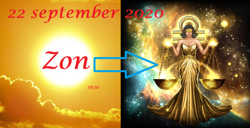 Zon in Maagd - 22 september 2020