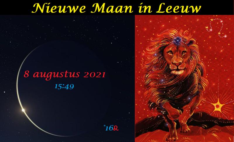 Nieuwe Maan in Leeuw - 8 augustus 2021