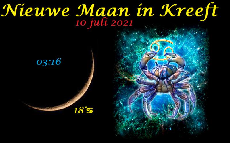 Nieuwe Maan in Kreeft - 10 juli 2021