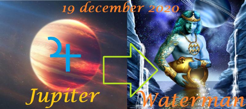Jupiter in Waterman - 19 december 2020