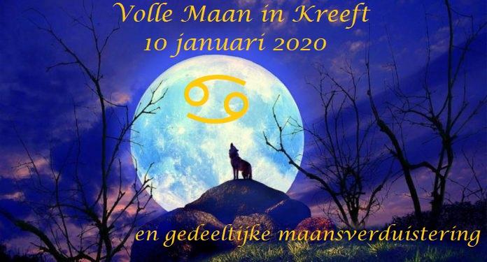 Volle Maan in Kreeft - 10 januari 2020 20.11