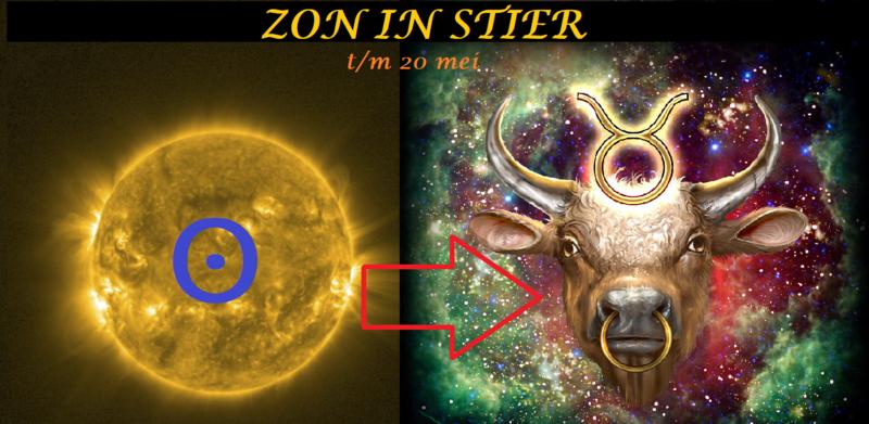 Zon in Stier - 19 april 2021