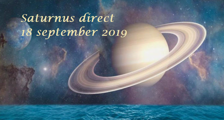 Saturnus direct - 18 september 2019