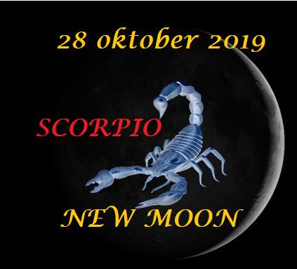 Scorpio New Moon - 28 oktober 2019