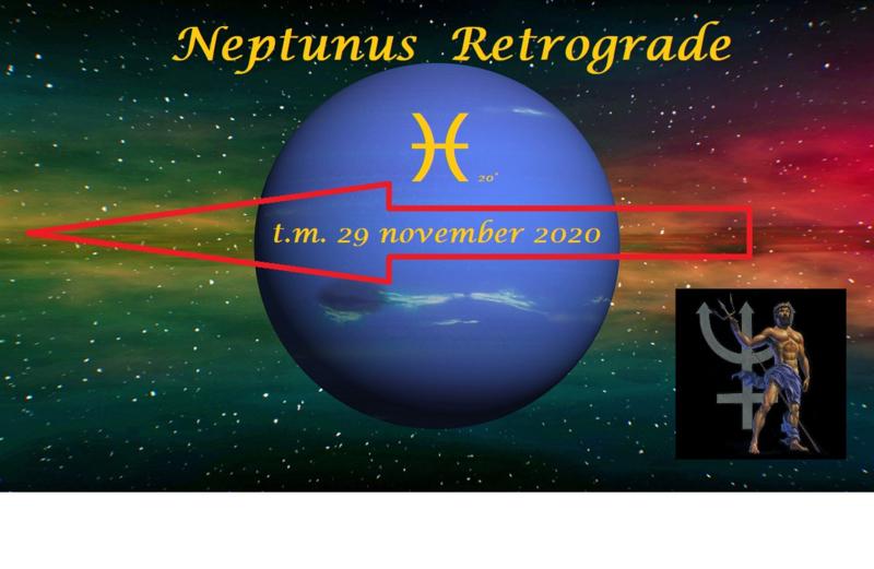 Neptunus retrograde - 23 juni