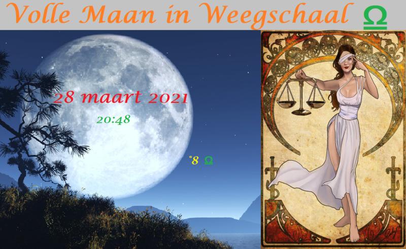 Volle Maan in Maagd - 28 maart 2021